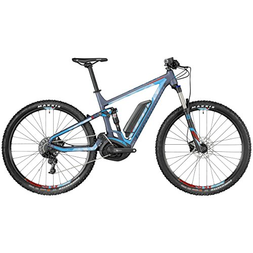 Bergamont E-Contrail 6.0 29 Pedelec Elektro MTB Fahrrad blau/schwarz 2018: Größe: XL (184-199cm)