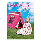 McCall 's Patterns mc7268osz 18Puppen Schlafsack und Zelt