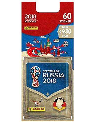 Panini WM Russia 2018 – Sticker – Blisterpack mit 12 Tüten - deutsche Ausgabe ('ausgabe)