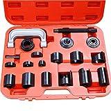 Lot 450757 de kit d'outils maîtres adaptateurs extracteurs de réparation automobile et entretien de joint sphérique 21pièces