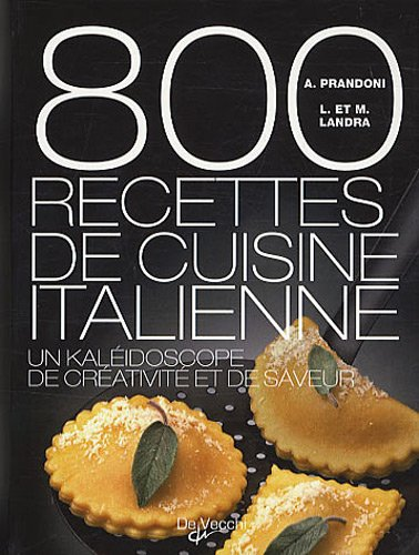 800 recettes de cuisine italienne
