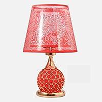 ZYCkeji Zart Kristalltischlampe, kreatives Goldschlafzimmer Nachttischlampe Moderne Tischlampe Hochzeit Kaffeetisch... preisvergleich bei billige-tabletten.eu