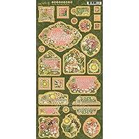 Graphic 45 Garden Goddess - Tabla de aglomerar