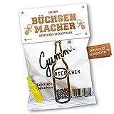 Lustige Gummibierchen (1x150g) Büchsenmacher-Edition, Fruchtgummi mit Biergeschmack