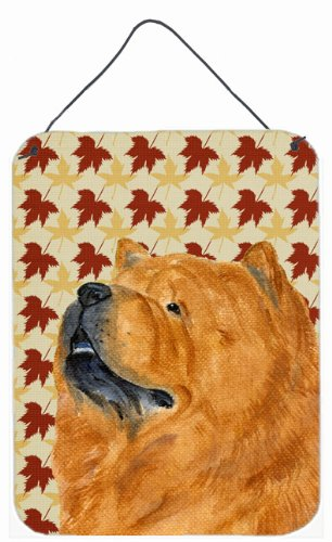 chow-chow-fall-leaves-portrait-parete-o-porta-hanging-stampe