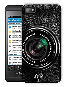 "Humor Gang Camera Photography Love Printed Designer Mobile Back Cover For ""Blackberry Z10"" (3D, Matte Finish, Premium Quality, Protective Snap On Slim Hard Phone Case, Multi Color)"