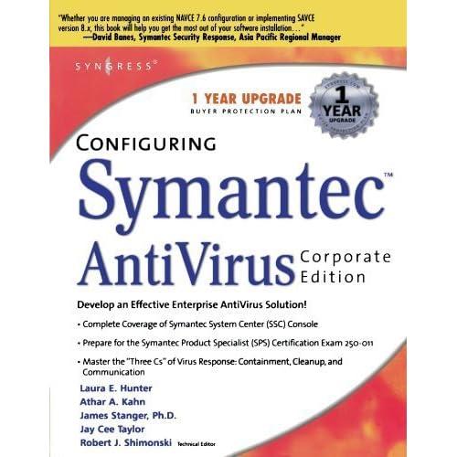 Configuring Symantec AntiVirus Corporate Edition 1st edition by Syngress, Shimonski, Robert (2003) Paperback