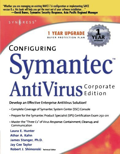 Configuring Symantec AntiVirus Corporate Edition 1st edition by Syngress, Shimonski, Robert (2003) Paperback