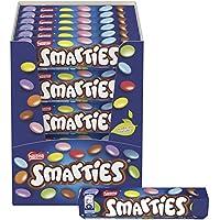 Smarties Confetti Ripieni di Cioccolato al Latte, 36 Tubi da 38 g