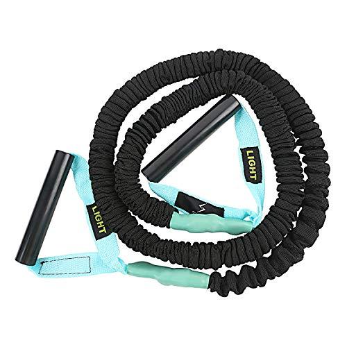 Spinway Latex Training Band, Light,Toning Tube, Exercise Band, Body Building Training,Pull Rope Exerciser,Resistance Band |Turquoise (1.8-2.7 KG)