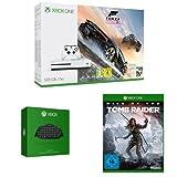 Xbox One S 500GB Konsole - Forza Horizon 3 Bundle +  Xbox One Chatpad QWERTZ (deutsches Tastaurlayout) + Rise of the Tomb Raider