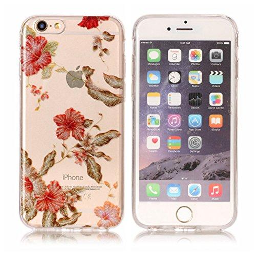 Per iPhone 6 / iPhone 6S Cover , YIGA Moda le onde Cristallo Trasparente Silicone Morbido TPU Case Caso Shell Protezione Copertura Custodia Copertina per Apple iPhone 6 / iPhone 6S (4.7) XS57