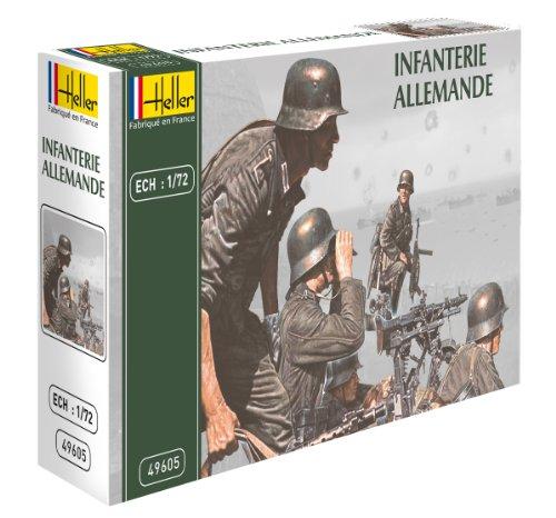 Heller 49605 - modellismo, soldati tedeschi, scala 1:72 [importato da francia]