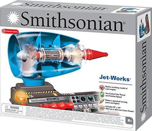 Smithsonian Jet Works Working Jet Engine Model Science Kit by Smithsonian