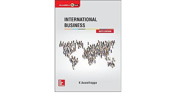 Aswathappa international ebook business