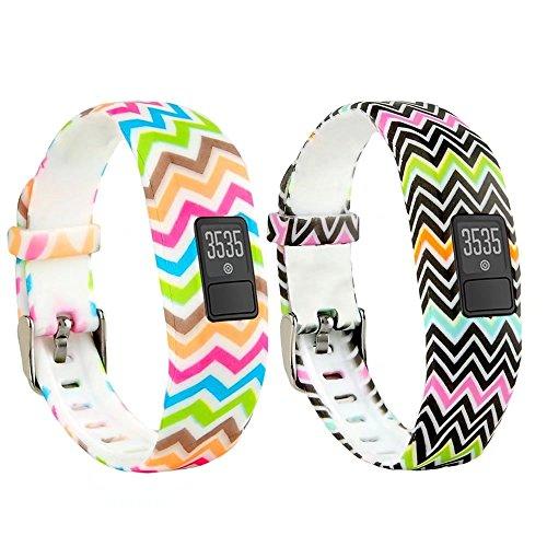 T-BLUER Ersatz-Armband mit Metall-Schnalle Bands für Garmin Vivofit 3 und Vivofit JR mit Spangen Fitness-Armband für alle Größen geeignet (kein Tracker)