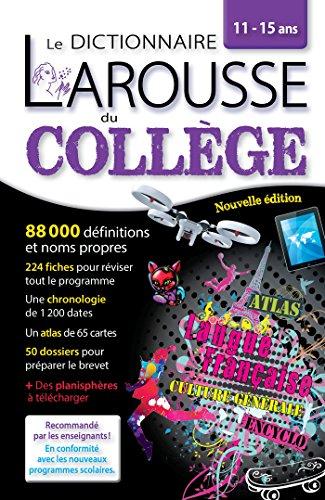 Larousse dictionnaire du Collège