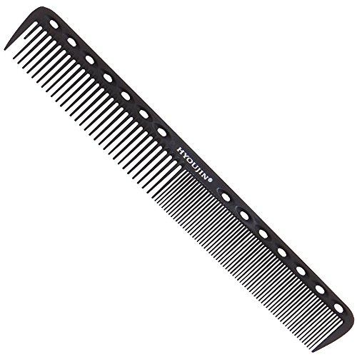 hyoujin® Nero carbonio professionale Styling pettine capelli, pettine da taglio Set, Stylist Parrucchiere Barbiere Pettine Set