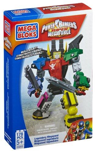 Mega Bloks - 5663 - Jeu De Construction - Power Rangers Smf - Legendary Megazord
