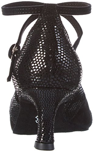 Diamant - Damen Tanzschuhe 141-077-084, Scarpe da ballo Donna Nero (Black 9)