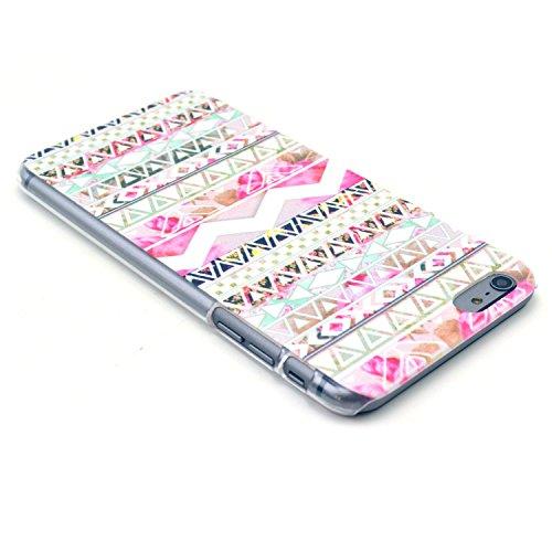 TIODIO® 4 en 1 Etuis Case Protecteur Hard Arrière Housse Coque Etui Case Cover pour Apple iphone 6S Plus /iPhone 6 Plus housse étui case cover, Stylus et Film protecteur inclus, B06 B26