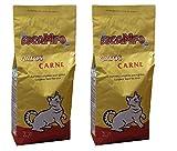 DOCAMPO Pack 2 Sacos de pienso (2 Kg/U) Comida para Gatos Sabor Carne