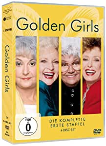 Golden Girls - Staffel 1 (Exklusiv bei Amazon, 4 DVDs)