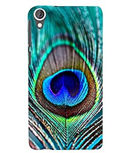 Citydreamz Colorful Peacock Feather/Birds/Mor Pankh Hard Polycarbonate Designer Back Case Cover For HTC Desire 626G Plus/ HTC Desire 626 (4G) LTE