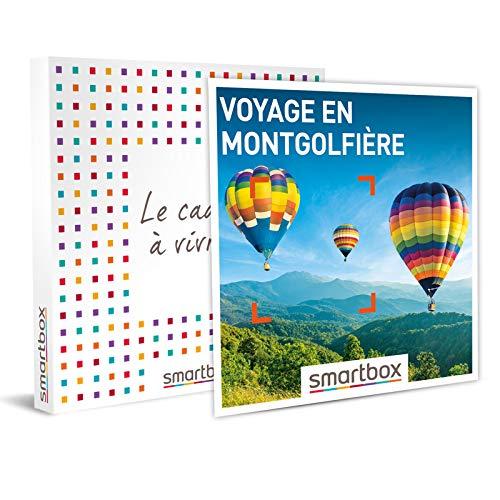 SMARTBOX - Coffret cadeau - Voyage en montgolfière - idée cadeau - 1 vol en...