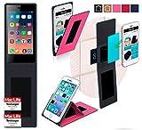 reboon Hülle für Siswoo A4 Plus Chocolate Tasche Cover Case Bumper | Pink | Testsieger
