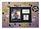 Jason Momoa-Aquaman-Display-montato e pronto per essere autografata favolosa-Justice League