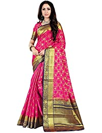 Nirja Creation Multi Color Traditional Fancy Cotton Party wear Silk Saree