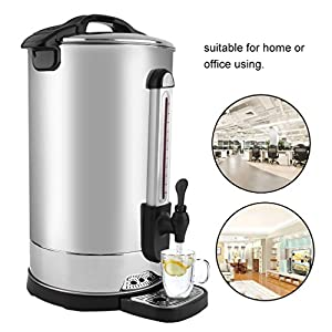 Preup Water Dispensers,Electric Kettle Instant Water Heater 230v Counter Top Commercial Water Boiler Automatic Heating Boiler Water Machine For Coffee Bar Shop