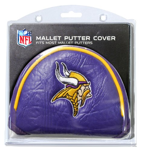 NFL Golf Mallet Putter Cover, Minnesota Vikings -