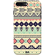 DailyObjects Back Case Cover for iPhone 7 Plus Color- Multicolor
