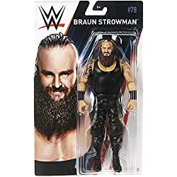 WWE SERIE BASIC 78 MATTEL ACTION FIGURE WRESTLING - Marrone strowman IL MOSTRO Among Uomo