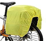 MINA-Products Gepäckträger Rad RegenschutzHülle Universal Größe – Fluoreszierend – Abdeckung/Cover/Hülle – Schutz vor Regen & Staub für Ihr Gepäck – Fahrrad Rad Bike 100x50cm – Dehnbar