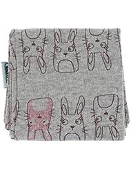 MMRM niños bufanda de la historieta animal hermoso Impreso de cuello de algodón caliente para el bebé cabrito Pequeño Totoro gris
