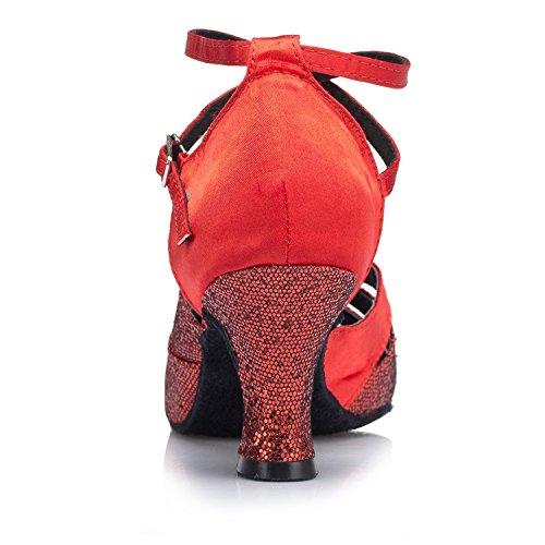 Miyoopark - Ballroom donna Red-8cm heel