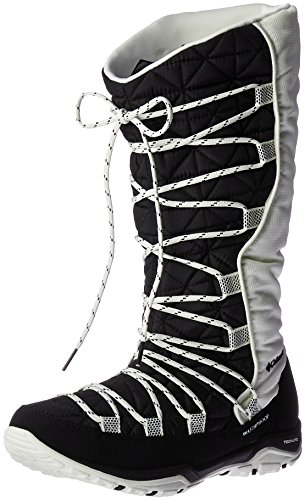 Columbia Loveland Omni-Heat, Bottes de Neige femme Black, Sea Salt
