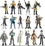 Vercico 16pcs Figuras de acción Juguetes Figuras del Juego Modelo Personajes
