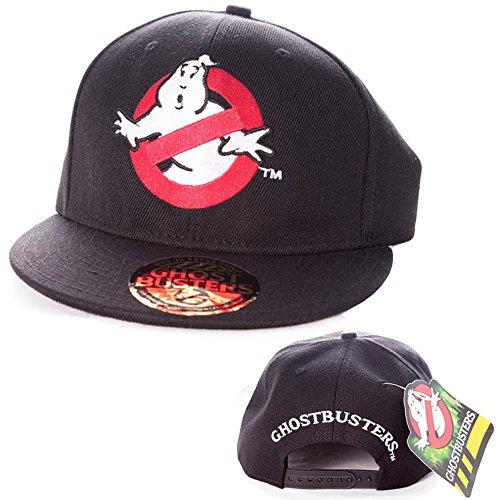 Ghostbusters Herren Baseball Cap - Classic Logo Snapback Cap