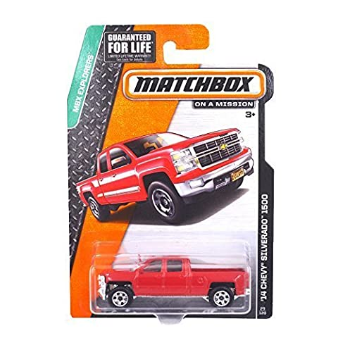 YISET Matchbox MBX Explrers 14 Chevy Silverado 1500 29/120 by YISET