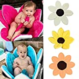 Babybadewanne Blooming Bath Flower Badewanne für Baby Blooming Sink Bad für Baby Infant Lotus (Orange)