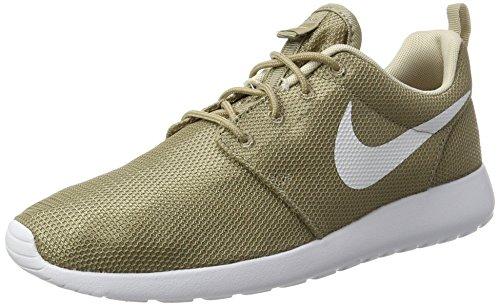 Nike Roshe One, Scarpe Running Uomo Beige (kaki / Blanc / Flocons D'avoine / Blanc)