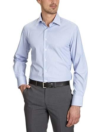 Arrow Herren Businesshemd Regular Fit KENT REG FIT SC / CL00421I22, Gr. 39, Blau (063 Medium Blue)