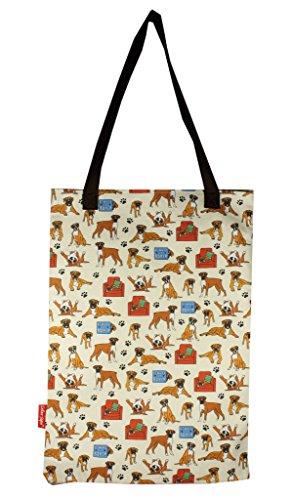 Selina-Jayne Boxer Dog Limited Edition Designer Baumwolltasche (Tote - Tote Jayne