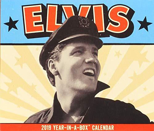 Elvis 2019 Calendar: Year in a Box (Elvis-tageskalender)