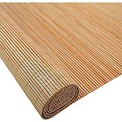 ZEMIN Estores De Bambú Persiana Enrollable Impermeable Aire Libre Interior Casa Balcón Cortar, 4 Colores (Color : D, Tamaño : 50x100cm)