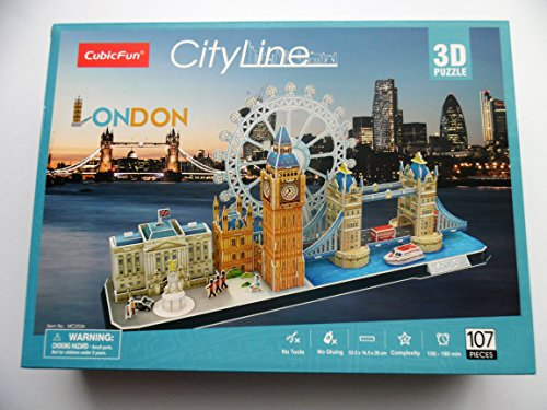 Cubic Fun–Puzzle 3d della città di Londra in linea 771mc253